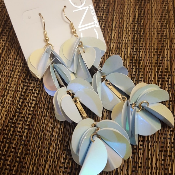 Icing Jewelry - Iridescent Petal Earrings